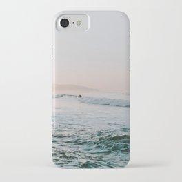 summer waves iPhone Case