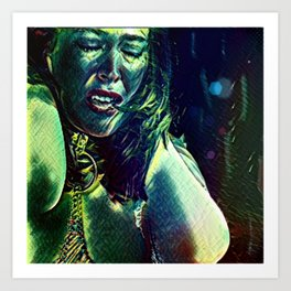 Olivia: Township Vampyre Art Print