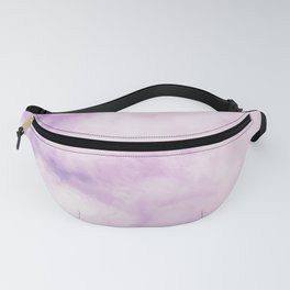 Fuchsia Cloud // Colorful Sunset Pink and Purple Fluffy Ocean Sky Photography Beach Vibes Fanny Pack