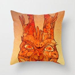 redrabbit Throw Pillow
