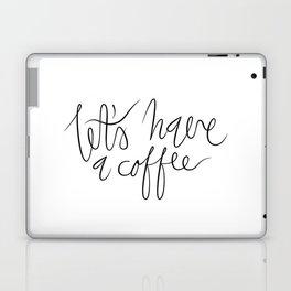 Coffee maniac. Laptop & iPad Skin