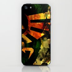 The Triforce - Digital Watercolor iPhone & iPod Skin