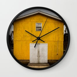 Ice building Wall Clock