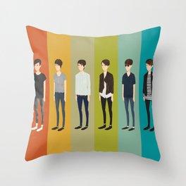 Tegan and Sara: Sara collection Throw Pillow