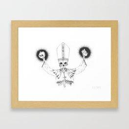 Pope Framed Art Print