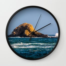 Rocky Landscape at the Sea Wall Clock