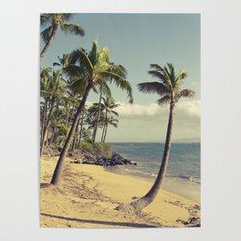 Maui Lu Beach Kihei Maui Hawaii Poster