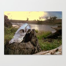 Trail Marker Canvas Print