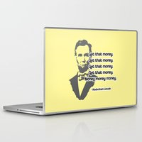 lincoln Laptop & iPad Skins featuring Abebroham Lincoln by Spooky Dooky