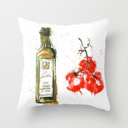 Cucina italiana Throw Pillow