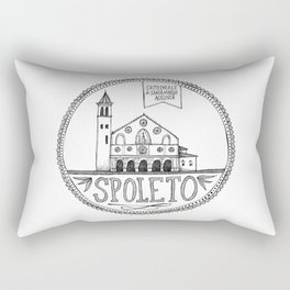 Cattedrale di Santa Maria Assunta, Spoleto Rectangular Pillow