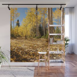 Crested Butte Colorado Fall Colors Panorama - #2 Wall Mural