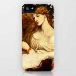 "Dante Gabriel Rossetti ""Lady Lilith"" iPhone Case"