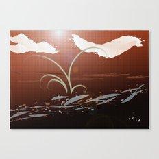 Streamside Canvas Print