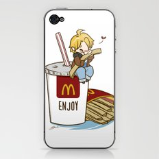 Hetalia - America Loves McDonalds  iPhone & iPod Skin