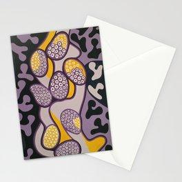 Yellow gossip Stationery Cards