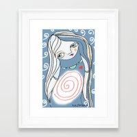 cycle Framed Art Prints featuring Cycle... by Dulcamara
