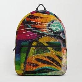 Rainbow kitty Backpack
