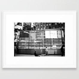 All Walks Framed Art Print