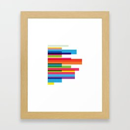 sexy colors Framed Art Print