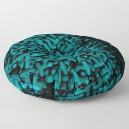 Cluster of Tetrapods (COLORS 1) Floor Pillow