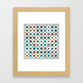 Eye Jitter Framed Art Print