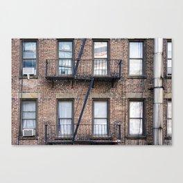 New York Fire Escape Canvas Print