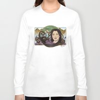 regina mills Long Sleeve T-shirts featuring regina nouveau by raynall