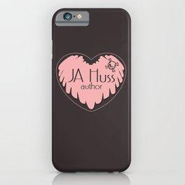JA Huss Sexy Suspense Logo iPhone Case