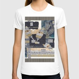 Feather Leaf Collage T-shirt