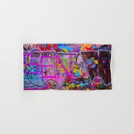 Bright Graffiti Hand & Bath Towel