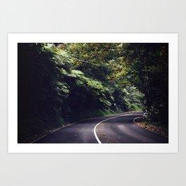 Road Art Print