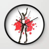 florence Wall Clocks featuring Florence by Gabby Grife | GuinArt