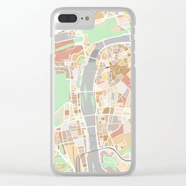 Prague, Czech Republic Clear iPhone Case