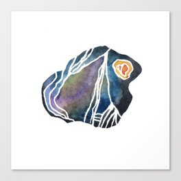 Schist - Pebble 2 Canvas Print