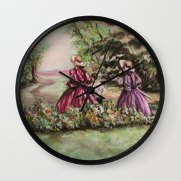 Path of Colors Wall Clock