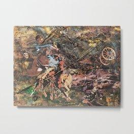 Wrangler Metal Print
