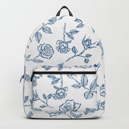 Roses are Bleue Backpack
