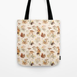 Meadow Friends Tote Bag