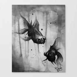 Water You Doing Here? Canvas Print