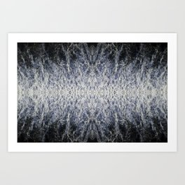 Sea water pattern Art Print