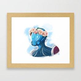 Mag FlowerCrown Framed Art Print