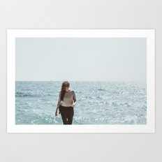 always the sea Art Print