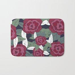 Floral-001 Bath Mat