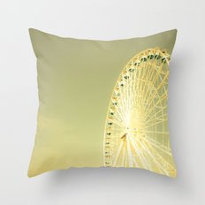 On the Boardwalk Throw Pillow