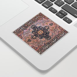 Sarouk  Antique West Persian Rug Print Sticker