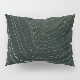 Black and Gold Pillow Sham