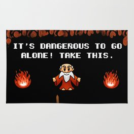 It's Dangerous to go alone! Rug