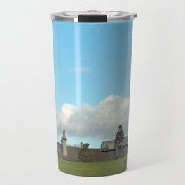 sitting on top of the world... Travel Mug