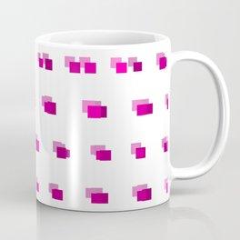 Squares: Pink Coffee Mug